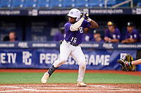 Termarr Johnson (16) during the Perfect Game National Showcase on July 16, 2021 at Tropicana Field in St. Petersburg, Florida.  Termarr Johnson, of Atlanta, Georgia, attends Mays High School and is uncommitted.  (Mike Janes/Four Seam Images)