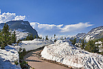 Logan Pass Visitor Center, Going-to-the-Sun Road, Glacier National Park is fifty miles of hair raising driving and stunning views.  Completed in 1933, it winds to Logan Pass from Lake McDonald, sometimes cut through solid granite cliffs.