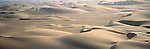 Sand dunes at the Skeleton Coast in Namibia.