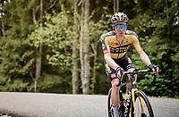 Steven Kruijswijk (NED/Jumbo-Visma) up the Col de Joux Plane (HC/1691m/11.6 km@8.5 %)<br /> <br /> 73rd Critérium du Dauphiné 2021 (2.UWT)<br /> Stage 8 (Final) from La Léchère-Les-Bains to Les Gets (147km)<br /> <br /> ©kramon