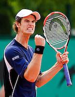 30-5-08, France,Paris, Tennis, Roland Garros, Andy Murray