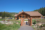 The Lolo Pass Visitor Center, on U.S. Highway 12 astride the Idaho Montana Border.  The center is a collaboration of the National Park Service, the U.S. Forest Service, and the Nez Perce Tribe.  Lewis and Clark crossed here, it is a designatied site along the Nez Perce National Historic Trail and the Nez Perce National Historic Park, as well as lying along historic wagon roads such as the gold rush pack train routes.  Great camping abounds along U.S. 12.