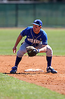 February 26, 2010:  Second Baseman Chris Fontenelli of the Seton Hall Pirates during the Big East/Big 10 Challenge at Raymond Naimoli Complex in St. Petersburg, FL.  Photo By Mike Janes/Four Seam Images