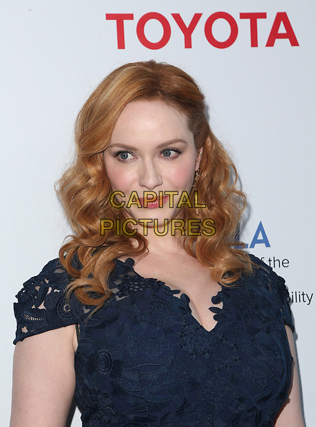 BEVERLY HILLS, CA - March 13: Christina Hendricks, At The UCLA Institute Of The Environment And Sustainability Celebrates Innovators For A Healthy Planet At Private Resident In California on March 13, 2017. <br /> CAP/MPI/FS<br /> ©FS/MPI/Capital Pictures