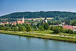 Deutschland, Bayern, Oberpfalz, Berching: Stadt am Main-Donau-Kanal, beliebter Abstecher vom Altmuehltal Radwanderweg | Germany, Bavaria, Upper Palatinate, Berching: small town at Rhine–Main–Danube Canal