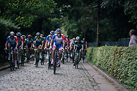 over some cobbles<br /> <br /> 98th Brussels Cycling Classic 2018<br /> One Day Race:  Brussels > Brussels (201km)