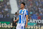 CD Leganes' Guido Marcelo Carrillo during La Liga match between CD Leganes and Sevilla FC at Butarque Stadium in Leganes, Spain. December 23, 2018. (ALTERPHOTOS/A. Perez Meca)