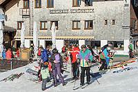 Berghaus Schönblick auf dem Söllereck bei  Oberstdorf im Allgäu, Bayern, Deutschland<br /> Berghaus Schönblick on Mt.  Sellereck  near Oberstdorf, Allgäu, Bavaria, Germany