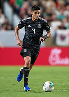 Denver, Colorado - June 19, 2019: Mile High Stadium, Mexico v Canada in a group stage match in the Concacaf Gold Cup.  Final score Mexico 3, Canada 1.