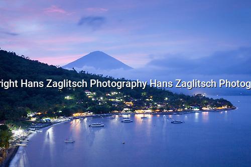 Jemeluk Beach und Gunung Agung, Bali