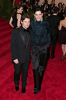 **FILE PHOTO** Stella Tennant Has Passed Away at 50.<br /> <br /> NEW YORK, NY - May 6: Christopher Kane and Stella Tennant attend the Costume Institute Gala for the 'PUNK: Chaos to Couture' exhibition at the Metropolitan Museum of Art on May 6, 2013 in New York City. <br /> CAP/MPI99<br /> ©MPI99/Capital Pictures