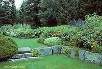 AC34-021z  Flower Garden - Japanese style garden