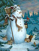 Liz,CHRISTMAS SANTA, SNOWMAN, WEIHNACHTSMÄNNER, SCHNEEMÄNNER, PAPÁ NOEL, MUÑECOS DE NIEVE, paintings+++++,USHCLD0235,#x#