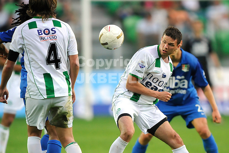 voetbal fc groningen nec play off eredivisie seizoen 2007-2008 11-05-2008  marcus berg.Fotograaf Jan Kanning .