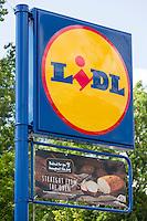 Lidle supermarket sign