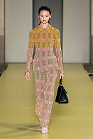 Salvatore Ferragamo Spring 2021 Ready-to-Wear collection catwalk fashion show at Milan Fashion Week, Milano, Italy in September 2020.<br /> CAP/GOL<br /> ©GOL/Capital Pictures