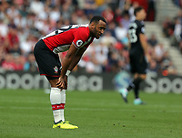 Nathan Redmond of Southampton in action during the Premier League match between Southampton and Swansea City at the St Mary's Stadium, Southampton, England, UK. Saturday 12 August 2017