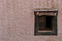 The window, at a Monestary, Tibet architecture