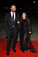 Nick Knowles and Pascal Craymer<br /> arriving for the 2017 NSPCC Britain's Got Talent Childline Ball at Old Billingsgate, London<br /> <br /> <br /> ©Ash Knotek  D3315  28/09/2017
