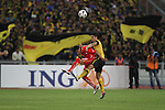 Malaysia vs Bahrain during the Olympic Qualifying 2012 Group C stage match on November 27, 2011 at the National Stadium in Kuala Lumpur, Malaysia. Photo by World Sport Group