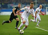06.02.2018, Football DFB Pokal 2017/2018,   SC Paderborn 07 - FC Bayern Muenchen, in Benteler-Arena Paderborn. Joshua Kimmich (Bayern Muenchen)  *** Local Caption *** © pixathlon<br /> <br /> +++ NED + SUI out !!! +++<br /> Contact: +49-40-22 63 02 60 , info@pixathlon.de