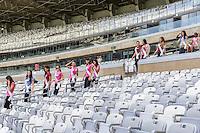 BELO HORIZONTE, MG, 25.09.2013 - MISS BRASIL VISITA MINEIRAO - Candidatas do concurso Miss Brasil durante visita ao Estadio do Mineirao na tarde desta quarta-feira, 25. A escolha da proxima Miss Brasil será sábado dia 27. (Foto: Nereu Jr. / Brazil Photo Press).