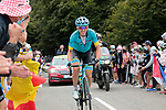 Ion Izaguirre Insausti (ESP) Astana Pro Team climbs Col de Marie Blanque during Stage 9 of Tour de France 2020, running 153km from Pau to Laruns, France. 6th September 2020. <br /> Picture: Colin Flockton   Cyclefile<br /> All photos usage must carry mandatory copyright credit (© Cyclefile   Colin Flockton)