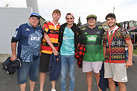 27th March 2021; Hamilton, New Zealand;  Fans outside the stadium;<br /> Chiefs versus Blues, Super Rugby  AOTEAROA, FMG Waikato Stadium, Hamilton, New Zealand. 26 March 2021.
