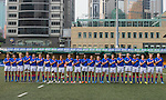 Uruguay vs Namibia during the Day 3 of the IRB Junior World Rugby Trophy 2014 at the Hong Kong Football Club on April 15, 2014 in Hong Kong, China. Photo by Aitor Alcalde / Power Sport Images