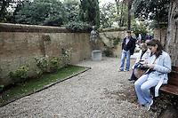 I giardini della Peggy Guggenheim Collection a Venezia.<br /> Gardens of Peggy Guggenheim's collection museum in Venice.<br /> UPDATE IMAGES PRESS/Riccardo De Luca