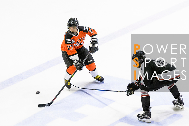 Nordic Vikings vs HK Tigers during the Mega Ice Hockey 5s on May 03, 2018 in Hong Kong, Hong Kong. Photo by Marcio Rodrigo Machado / Power Sport Images