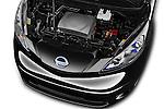 Car Stock 2016 Nissan E-Nv200-Evalia Connect-Edition 5 Door Mini MPV Engine  high angle detail view