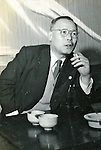 Undated - Seiichiro Yasui (1891-1962) was the first Governor of Tokyo. He served the Governor of Tokyo between 1947 to 1959. (Photo by Kingendai Photo Library/AFLO)