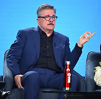 "PASADENA, CA - JANUARY 13: Cast member Nathan Lane attends the panel for ""Penny Dreadful: City of Angels"" during the Showtime presentation at the 2020 TCA Winter Press Tour at the Langham Huntington on January 13, 2020 in Pasadena, California. (Photo by Frank Micelotta/PictureGroup)"