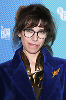 "LONDON, UK. October 08, 2019: Sally Hawkins arriving for the ""Eternal Beauty"" screening as part of the London Film Festival 2019 at the NFT South Bank, London.<br /> Picture: Steve Vas/Featureflash"