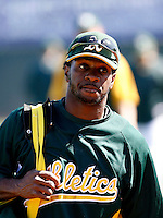 Corey Wimberly - Oakland Athletics - 2009 spring training.Photo by:  Bill Mitchell/Four Seam Images