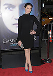 Michelle Forbes at HBO's L.A. Premiere of Game of Thrones  held at The Grauman's Chinese Theater in Hollywood, California on March 18,2013                                                                   Copyright 2013 Hollywood Press Agency