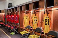 ORLANDO, FL - NOVEMBER 15: The USMNT locker room during a game between Canada and USMNT at Exploria Stadium on November 15, 2019 in Orlando, Florida.