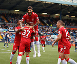 04.08.2019 Kilmarnock v Rangers: Connor Goldson and Scott Arfield