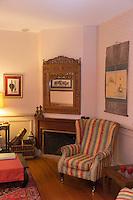 Europe/France/Bretagne/56/Morbihan/Vannes:  Hôtel de Charme: La Villa Kerasy - Détail d'un salon