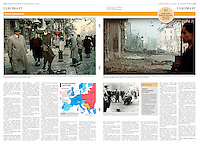 Helsingin Sanomat (leading Finnish daily) on the 60. anniversary of the 1956 Hungarian uprising, October 2016<br /> Photos: Jeno Kiss