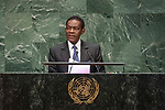 LOS general debate – 27 September<br /> <br /> AM<br /> <br /> His Excellency Teodoro Obiang Nguema Mbasogo, President, Republic of Equatorial Guinea
