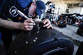 2017 IMSA WeatherTech SportsCar Championship<br /> Mobil 1 Twelve Hours of Sebring<br /> Sebring International Raceway, Sebring, FL USA<br /> Saturday 18 March 2017<br /> 86, Acura, Acura NSX, GTD, Oswaldo Negri Jr., Tom Dyer, Jeff Segal tire tech<br /> World Copyright: Michael L. Levitt/LAT Images