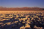 Salt flats the Salar de Atacama in the  Atacama Desert, Chile South America. 2000s