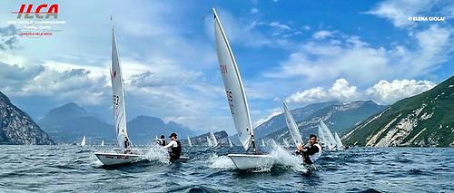 The Laser Youth Worlds on Lake Garda