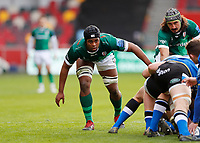 27th March 2021; Brentford Community Stadium, London, England; Gallagher Premiership Rugby, London Irish versus Bath;  Chunya Munga of London Irish