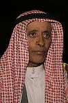 Israel, Bedouin Sheikh Uda Zanun from the Negev
