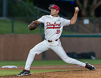 STANFORD, CA - JUNE 5: Jacob Palisch during a game between UC Irvine and Stanford Baseball at Sunken Diamond on June 5, 2021 in Stanford, California.