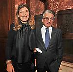 LUIGI E RAFFAELLA CHIARIELLO<br /> CHARITY DINNER VILLA LETIZIA 2009 ORGANIZZATO DA EMMA BONINO