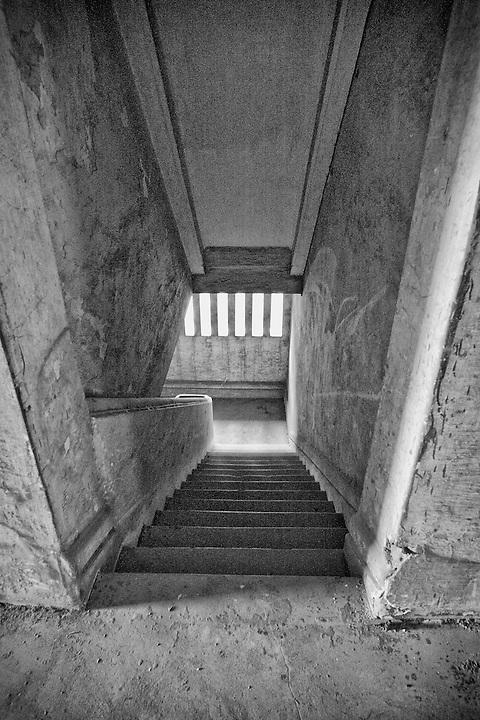 Internal Staircase, Sanshui (Samshui) Custom House.